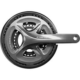 Shimano Claris FC-R2030 Kurbelgarnitur 3x8-fach 50-39-30 Zähne grau